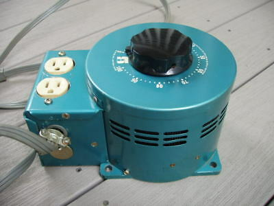 Staco Variable Transformer Rated 15 amps