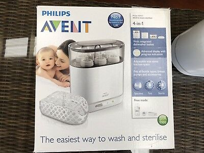 Phillips Avent 4-in-1 Electric Steam Baby Bottle Steriliser. RRP $169.00