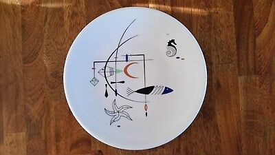 RESTAURANT Ware ABSTRACT Design Dinner plate WALLACE