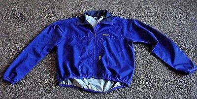 Patagonia Size M Blue Zip Front Windbreaker Light Weight Jacket Pre-owned