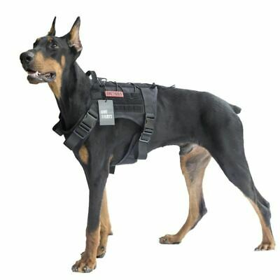 OneTigris Dog Harness Vest for Walking Hiking Hunting Tactical Military Water-Re