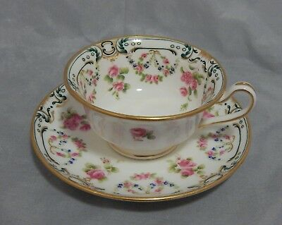 Minton Mermod and Jaccard Jewelry Co. Cup and Saucer Set