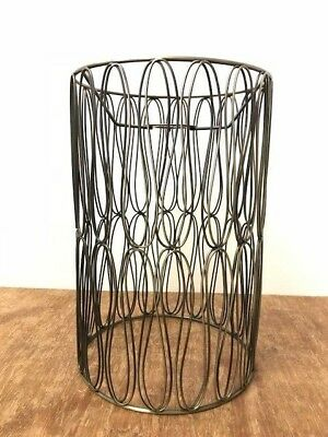 Vintage Industrial Antique Brass Metal Cage Pendant Light Fitting Lamp Shade