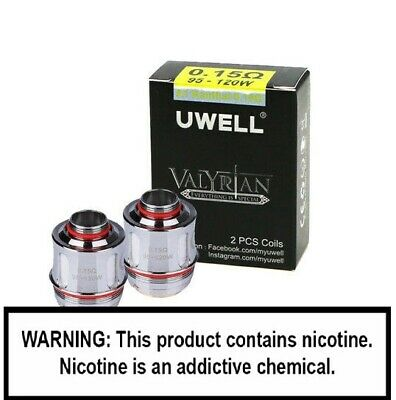 UWELL VALYRIAN COILS 0.15 ohm Genuine Replacement Coil Heads 95-120W