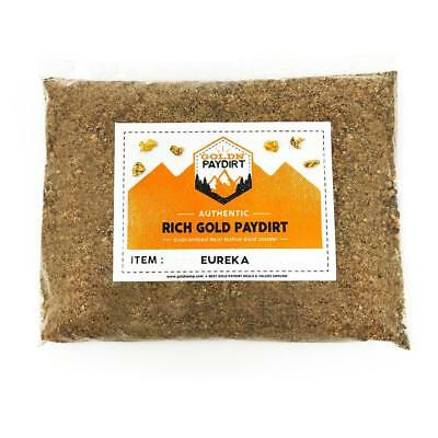 Eureka Panning Pay Dirt Bag Gold Prospecting Concentrate Nugget Pickers Flakes