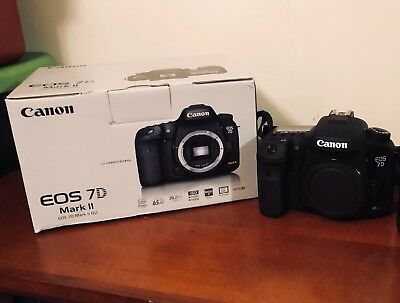 Canon EOS 7D Mark II 20.2MP Digital SLR Camera (Shutter Count: 199) (Barely Used