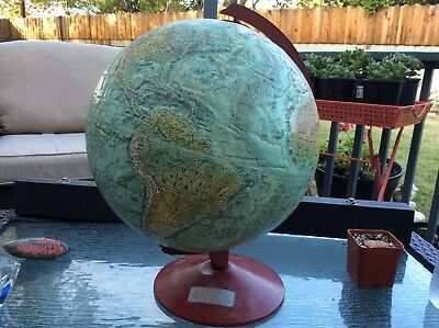 "Mid Century - World Ocean Series 12"" Replogle  Globe - Dr Pepper teenage america"