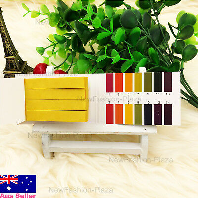 New 80 PH Test Strips Universal Indicator Paper Urine Saliva Acid Water Pool