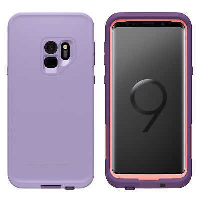 Genuine Lifeproof Fre case for Samsung Galaxy S9 PLUS waterproof Purple GS9 PLUS