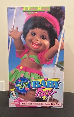 so funny natalie baby face doll galoob AA 1990s vintage rare NRFB articulated