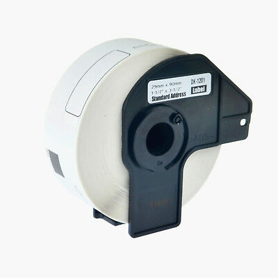 1 Roll DK-1201 DK1201 Shipping Labels For Brother QL-500 1060N 550 1050N w/Frame