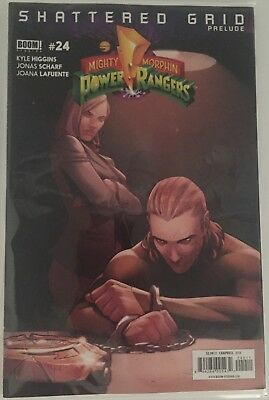 MIGHTY MORPHIN POWER RANGERS #24 Boom FIRST 1st PRINT SHATTERED GRID PRELUDE