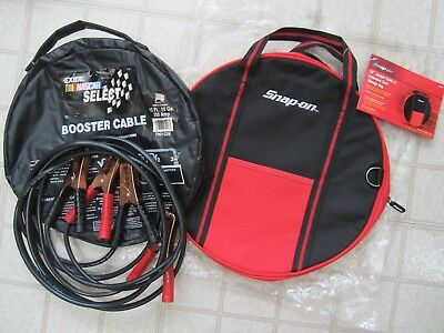 EXIDE NASCAR Select Booster Cables 12 FT 10 Gauge New In Snap on Caring Case