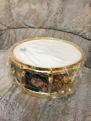"""Limited Edition REMO 14"""" Snare """"50 Anniversary"""" Modell - Gold Hardware"""