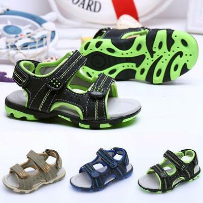 Toddler Kids Shoes Baby Boy Girl Closed Toe Summer Beach Sandals Shoes Sneakers