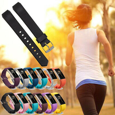 Fashion Silicone Wristband Band Replacement Strap Sport For Fitbit Alta &Alta HR
