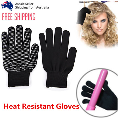 Heat Resistant Gloves For Curling Flat Iron Hair Styling Protective Hand Tools