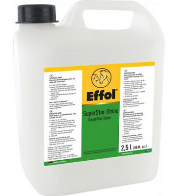 % TOP-ANGEBOT: (€13,95/l) Effol SuperStar Shine Glanzspray 2,5 l  -NH