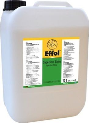 % TOP-ANGEBOT: Effol SuperStar-Shine Glanzspray 10 Ltr Nachfüllkanister -NH