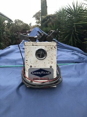 VIntage Good Year Battery Charger