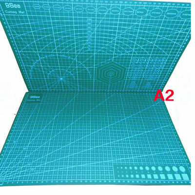 A2 60*45CM Self Healing Rotary Cutting Mat Duable Rectangle For Quilting Sewing