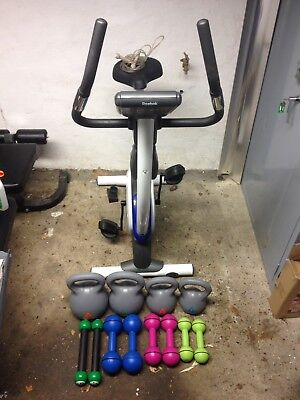 Exercise Bike And Free Weights