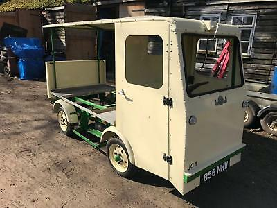 Rare Morrison Electricar D4 Electric Milk Float