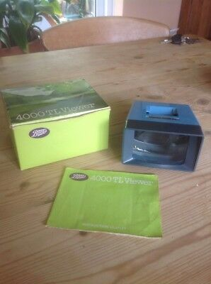 Boots 4000TL Slide Viewer