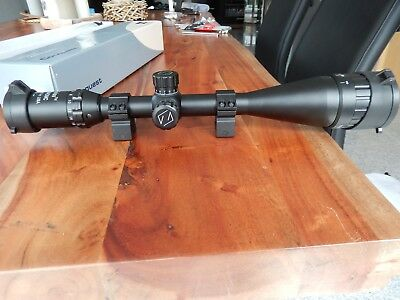 ZEISS Conquest 6-24x50AO Rifle Scope Illuminated R&G HD Sighting +Rings&Covers
