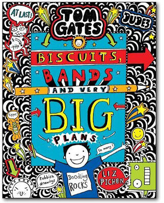 TOM GATES: Biscuits, Bands and Very Big Plans (Hardcover) *BRAND NEW*