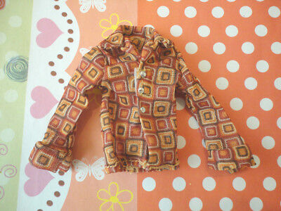 Doll Clothing - 1PCS Pullip/Momoko Doll wears Casual Brown Shirt NEW