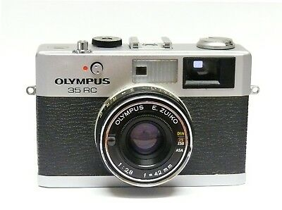 Olympus 35 Rc Rangefinder Camera. 42Mm F2.8 Lens.