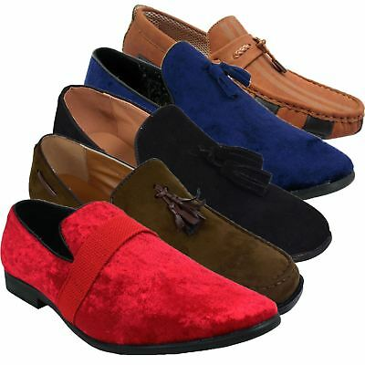Loyalty & Faith Mens Faux Suede Tassel Loafer Slip On Boat Deck Moccasin Shoes