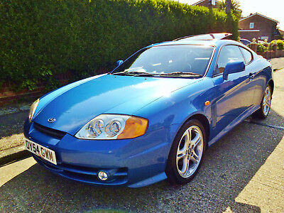 Hyundai Coupe V6 Automatic, 60,000 Mls With Full Service History 13 Stamps
