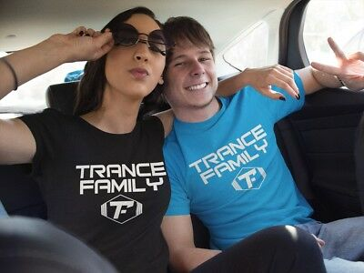 Trance Family T-Shirt,trance Music-Asot-A State Of Trance Party Festival T-Shirt