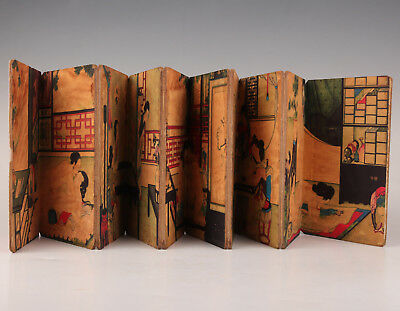 Xuan Paper Book Japanese Style Pronography Hand-Painted Old Collection