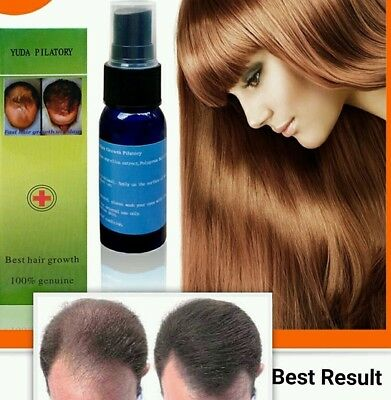 Yuda-No1 Fast Hair growth oil serum  100% Natural Extract Effective Result