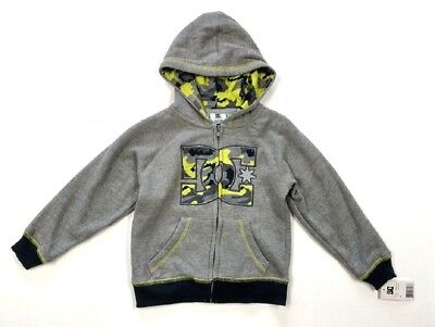 5656f29c45dd DC TODDLER BOY S Zippered Hooded Jacket Hoodie - Size  3T - NEW NWT ...
