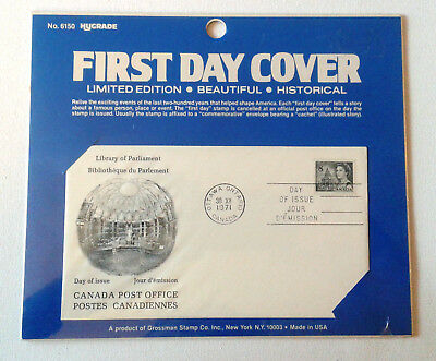 CanadaStamp First Day Cover Hygrade No.6150 Library Of Parliament