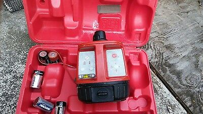 Hilti PR16 Rotary Laser Laser with case for parts or not working