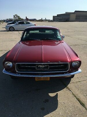 1967 Ford Mustang  1967 ford mustang coupe