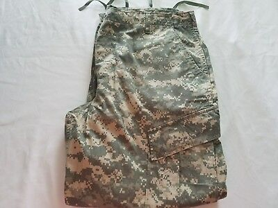 Genuine US Army Military Issue ACU Digital Camo Green Cargo Pants Large-Short
