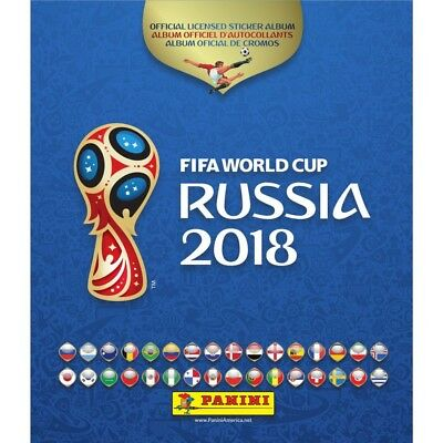 Lot 30 Images Panini Russie 2018