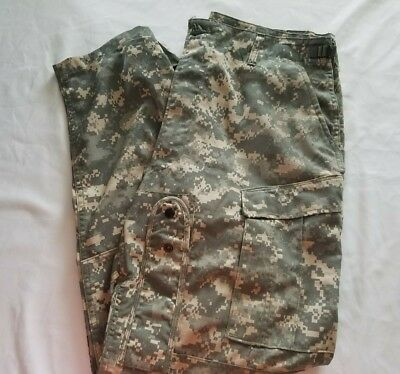 Genuine US Army Military Issue Aircrew Combat Digital Camo Pants Large-Regular