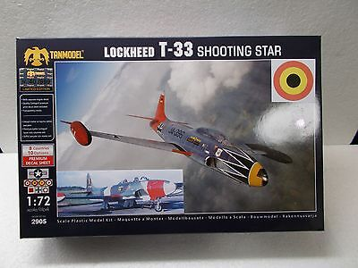 TANMODEL 2905 BELGIAN AIR FORCE  Lockheed T-33 - scale 1:72
