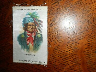 Tokio Cigarettes antique tobacco silk with native, Geronimo, #6