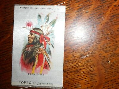 Tokio Cigarettes antique tobacco silk with native, Lean Wolf
