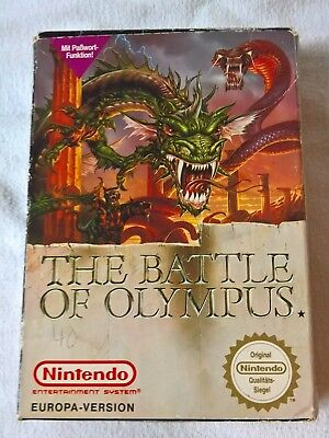 The Battle of Olympus für Nintendo Entertainment System (NES PAL)