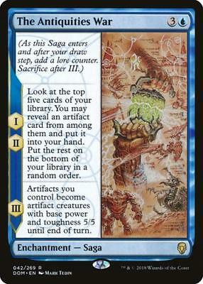 MTG-The Antiquities War - Dominaria - Mint-[FREE p&p]