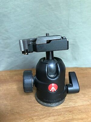 Manfrotto 488RC2 Tripod Head: 360 Degree Rotation and Secondary Safety System